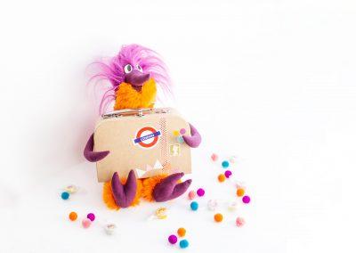 Fred's Move-ember - ein Spaßvogel auf Reisen zum kreativen Netzwerken