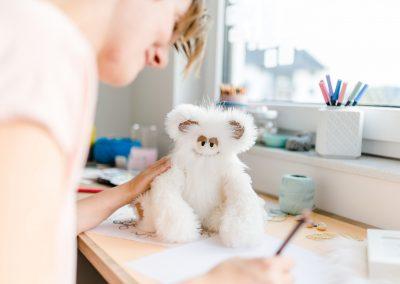 Tobi und Katrin zeichnen