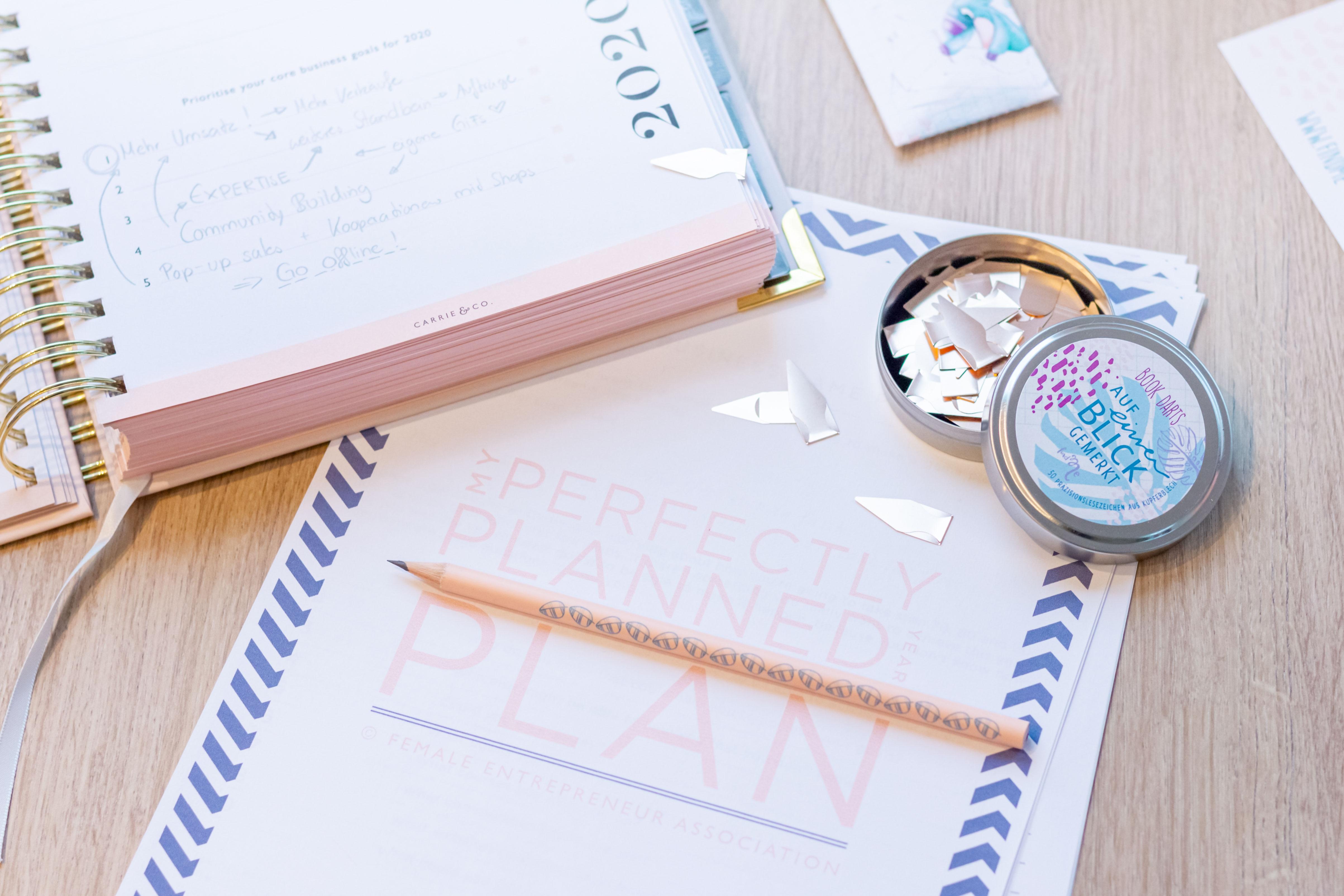 Perfectly Planned - Planer und Workbook von Carrie & Co.