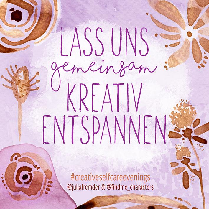 Lass uns gemeinsam kreativ entspannen - Katrin Meiller