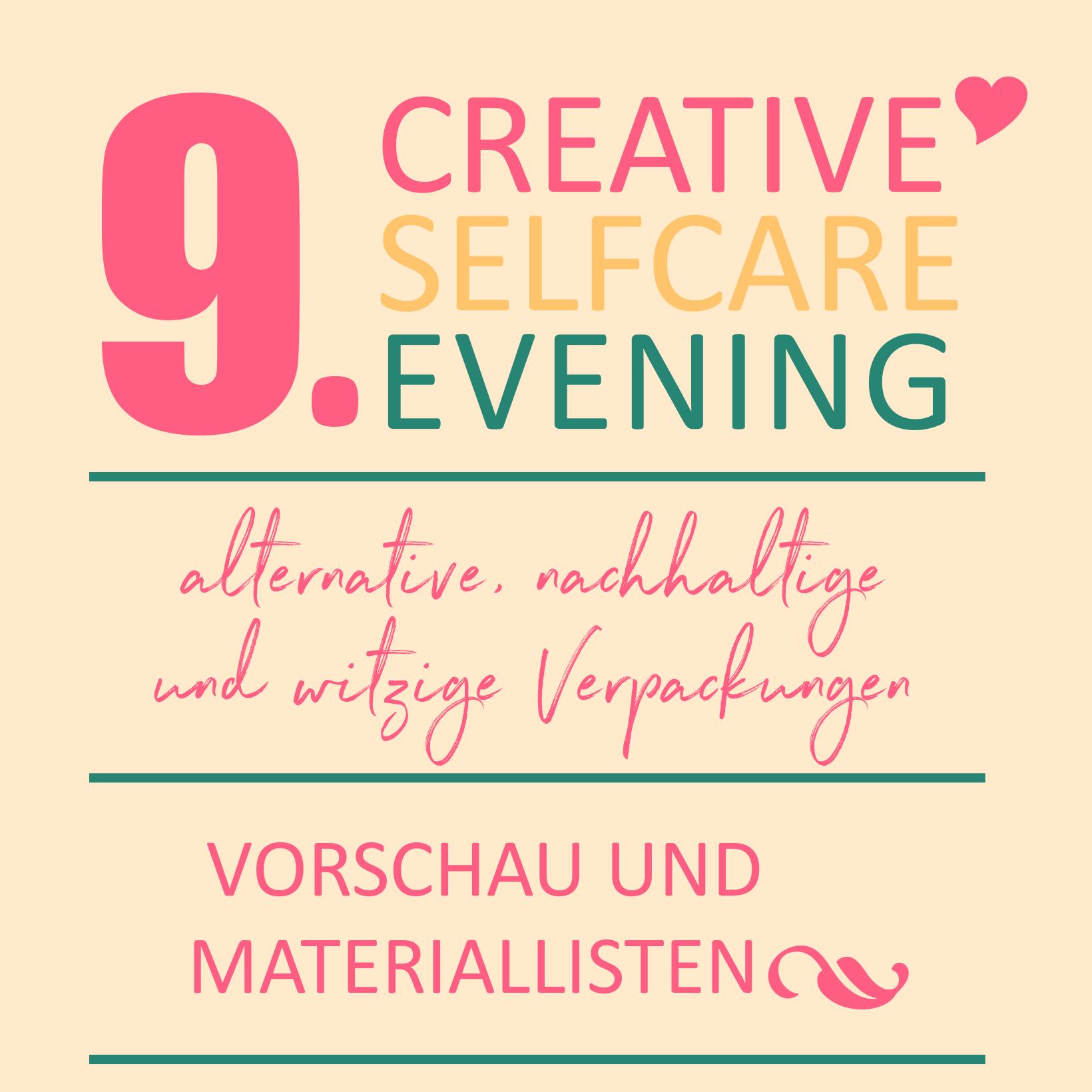 Weihnachtsgeschenke kreativ und nachhaltig verpacken - Materialliste