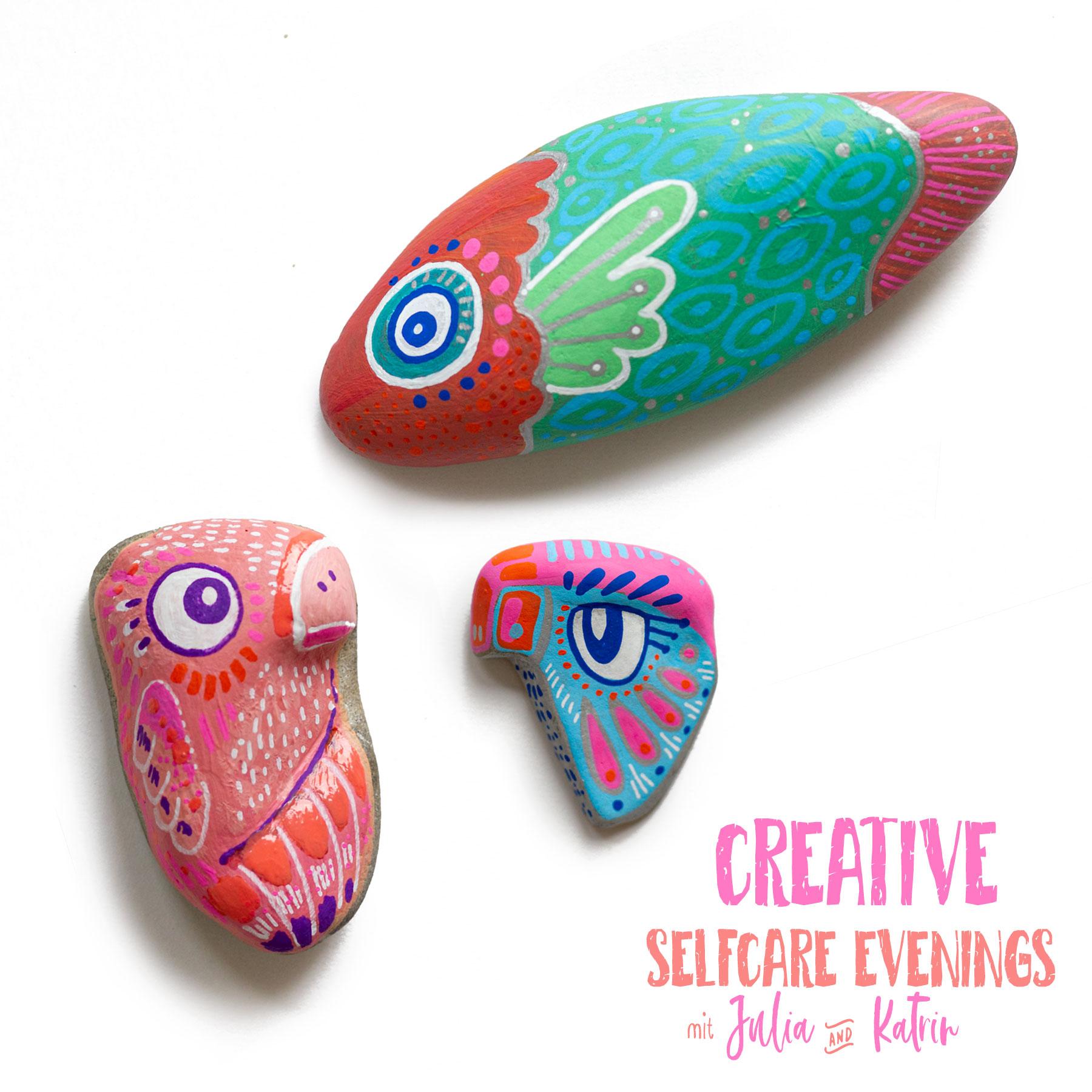 Steine bemalen für kreative Entspannung - Katrin Meiller