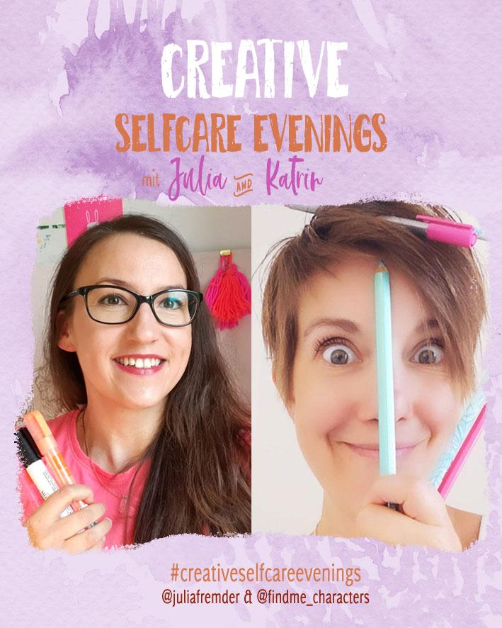 Julia Fremder und Katrin Meiller bieten kreative Entspannung im Instagram Livestream